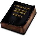 view the coxhealth printing services policy manual